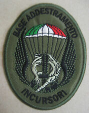 Toppa/Patch 9° RGT. D'ASSALTO COL MOSCHIN - B.A.I. BASE ADDESTRAMENTO INCURSORI