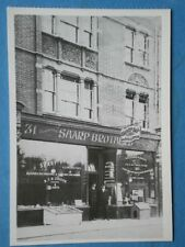 POSTCARD SOCIAL HISTORY A SPLENDID BUILDING HOSING SHARP'S DECORATING SHOP IN 19