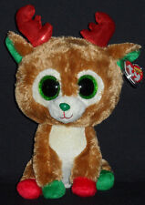 """TY BEANIE BOOS - ALPINE the REINDEER 9"""" (2013 VERSION) - MINT with MINT TAGS"""