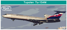 HPH Model 1:72 Tupolev Tu-154M Aircraft - Multimedia Model Kit #72006L