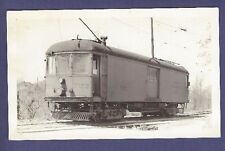 Indiana Railroad Street Car #722  - Vintage B&W Railroad Photo