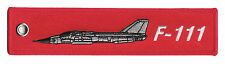 F-111 Remove Before Flight High Quality Polyester Keychain Luggage Baggage Tag