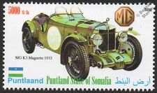 1933 MG K3 MAGNETTE Sports / Race Car Automobile Stamp
