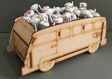 Y71 VW Camper Van Style CANDY SWEET CART Wedding Kids Party MDF Holder Table