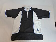 Vtg. Converse ALL STAR 1/4 Zip Pullover Mesh Jersey CHUCK TAYLOR Large
