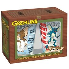 9841 Gremlins The Movie Gremilns Rule Pint 2 pack Gizmo Mohawk
