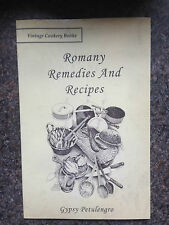 gypsies gipsy romany remedies cures poaching herbs travellers medicine cookery
