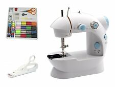 New Little Sewing Machine Set 2-speed Automatic Rewind w/ 42-Pc Kit Sew SAFELY