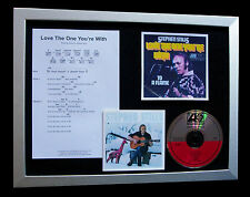 STEPHEN STILLS Love The One LTD TOP QUALITY CD FRAMED DISPLAY+FAST GLOBAL SHIP