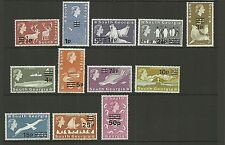 SOUTH GEORGIA 1977 SG53-66 DEFINITIVES SET MNH