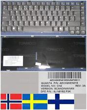 CLAVIER QWERTY NORDIC / NORDIQUE ACER CH2 AECH2KEN015 9J.N8182.P3K 7410530100