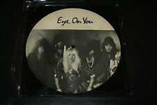 """NINJA """"EYE ON YOUR"""" VERY RARE 1987 SQUARE PIC DISC 7"""" VINYL LIMITED TO 500 OOP"""