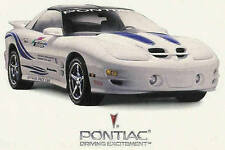 1999 PONTIAC FIREBIRD TRANS AM 30TH ANNIVERSARY BROCHURE -TRANS AM 30TH ANV-T/A