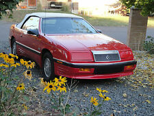 1989 Chrysler LeBaron Premium Convertible 2-Door