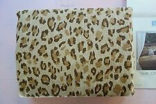 Ralph Lauren Spa Organic Desert Retreat Duvet Leopard TWIN NEW!