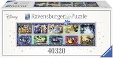 RAVENSBURGER WORLD'S LARGEST PUZZLE MEMORABLE DISNEY MOMENTS 40,320 PCS  #17826