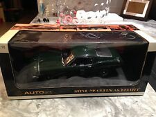 1/18 AUTOART STEVE MCQUEEN BULLITT MUSTANG GT390 GREEN MOVIE CAR NEW MEGA RARE