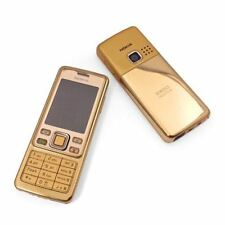 Nokia 6300 Gold Unlocked Camera Bluetooth Classic Mobile Phone -UK