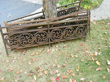 Antique Wrought Iron Railing & Fencing - From Historic Building