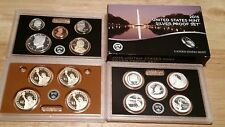 2015 US Mint Silver Proof 14 Coin Set