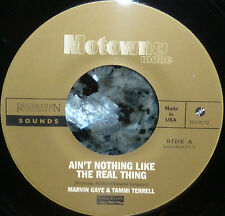 "* * MARVIN GAYE & TAMMI TERRELL ""AIN'T NOTHING LIKE THE REAL THING"" RARE MINT 45"