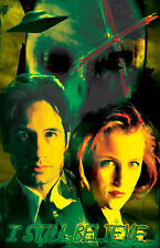 "X-Files Mulder and Scully ""I still Believe"" 11 x 17 High Quality Poster"