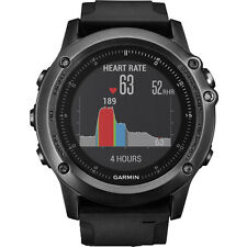 New Genuine Garmin Fenix 3 Sapphire HR - Black (010-01338-71)