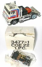 1978 Ideal TCR Racing Rig COE 22 Cab Over Engine Truck Slot Less Car 3477-1 MIB