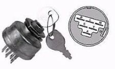 MTD RIDING LAWN MOWER TRACTOR IGNITION SWITCH 6-POST INCLUDES KEY 725-1717