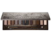 AUTHENTIC NEW URBAN DECAY NAKED SMOKY 12 COLOR ,DUOUBEL END BRUSH