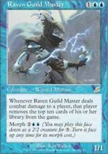 MTG magic cards 1x x1 Light Play, English Raven Guild Master Scourge