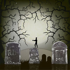 2 Tombstones Halloween Prop Decoration Haunted House Outdoor Indoor Spooky Decor