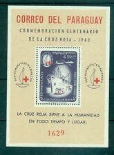 CROCE ROSSA - RED CROSS CENTENARY PARAGUAY 1964 block A