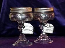 2 HILLBILLY/REDNECK WINE/MARTINI  GLASS ( 8 OZ.)