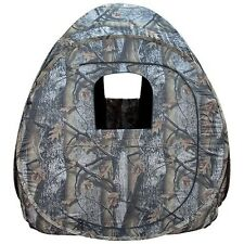 "Portable Camo Pop-Up Ground Hunting Blind 60""x60""x70""! Carrying Case Deer Turkey"