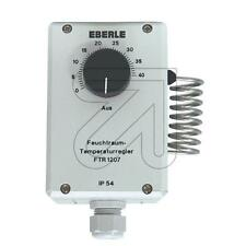 Feuchtraum-Thermostat Eberle FTR 1207,115550, aP, IP54, 0-40 C°, Thermoschalter