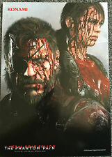METAL GEAR SOLID V The Phantom Pain esclusivo POSTER sangue