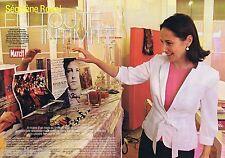 COUPURE DE PRESSE CLIPPING 2007 Segolene Royal   (6 pages)