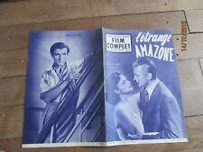 REVUE FILM COMPLET 390  1953 etrange amazone madeleine lebeau gerard landry