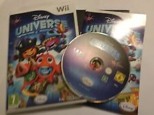 NINTENDO Wii GAME Disney Universe +BOX & INSTRUCTIONS COMPLETE PAL