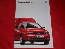 VW Caddy Kastenwagen Kombi 1.4 1.6 1.9 SD 1.9 SDI Prospekt von 1995