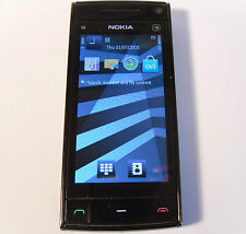 Nokia X6-00 Black 16GB (Unlocked) Smartphone FM Radio Music Mobile X6