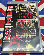 IRON MAIDEN NEW The Number of the Beast UMD MUSIC FOR PSP