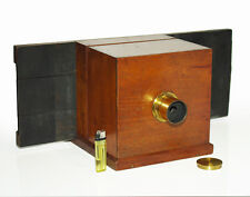 Sliding Box Daguerreotype Camera from the late 1860 years
