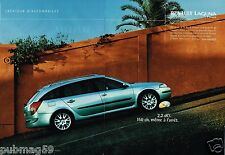 Publicité advertising 2002 (2 pages) Renault Laguna Estate