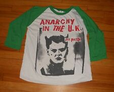 Vintage Sex Pistols Anarchy in the UK  Punk Rock Rare T Shirt Concert Jersey