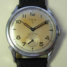 Vintage 1951 Elgin Shockmaster Men's Manual Wind Watch - 642 Movement