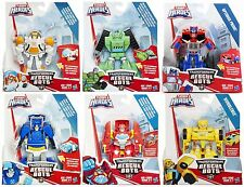 Transformers Rescue Bots Heatwave Chase Blades Boulder Optimus Prime Bumblebee