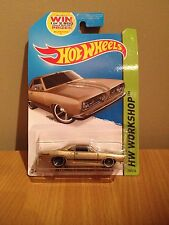 Hot wheels'68 plymouth barracuda formula s 239 de 250 brand new sealed