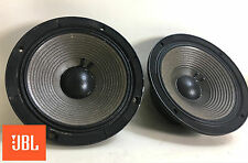 "JBL 2118H 8"" 8-ohm Midrange Speaker Pair, DCR's 5.4 / 5.2 - Tested & Clean 1687"